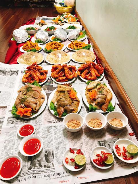 dịch vụ nấu cỗ tại nhà Hoàng Mai