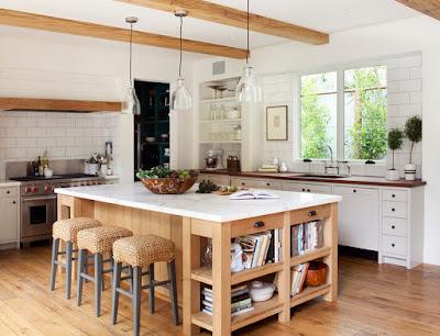 แบบห้องครัวไม้