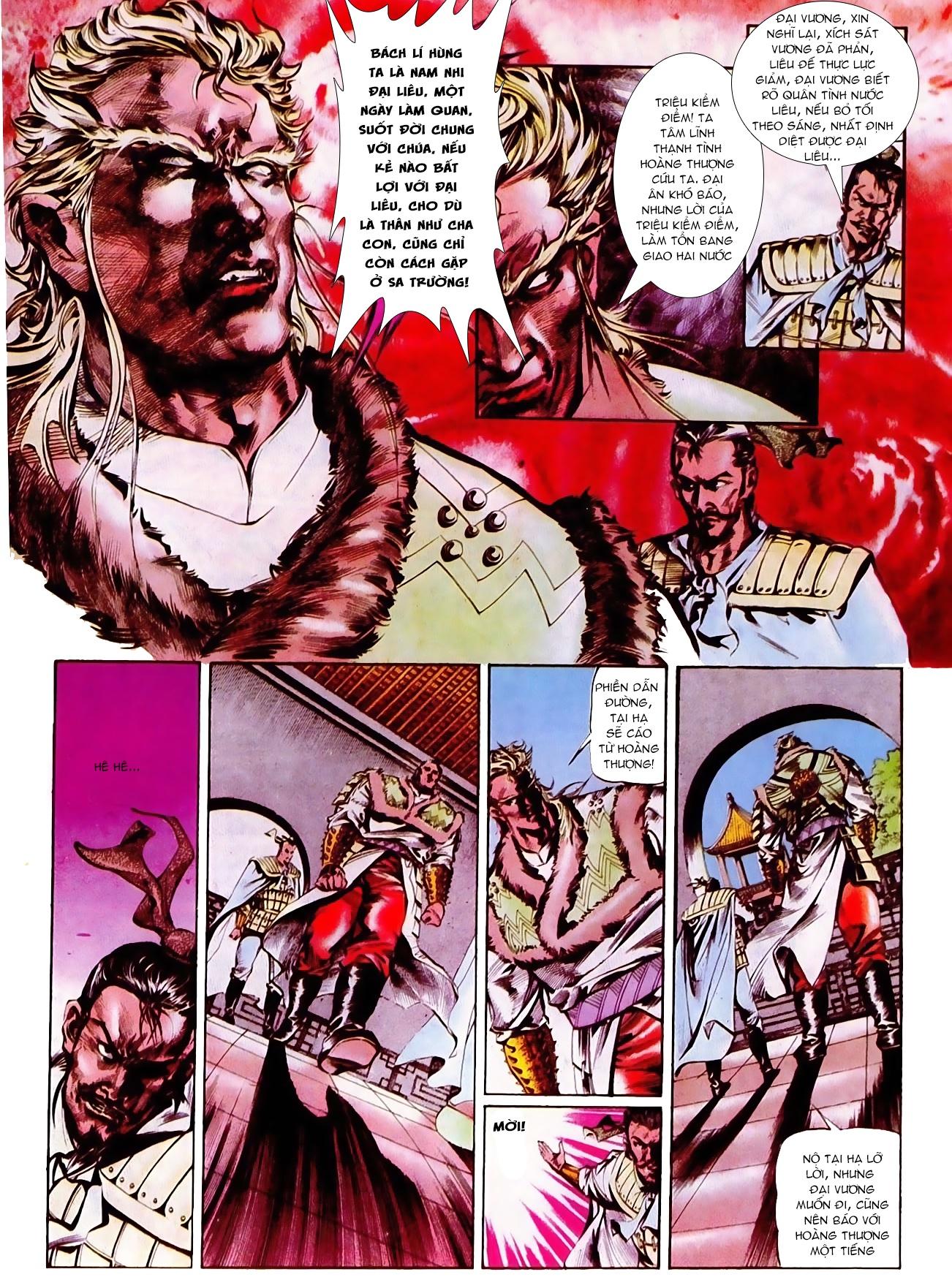 Thiết Tướng Tung Hoành Chap 272 - Trang 4