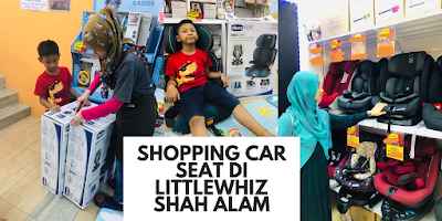 Shopping Car Seat di LittleWhiz Shah Alam