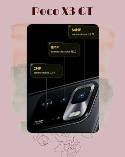 smartphone poco x3 gt