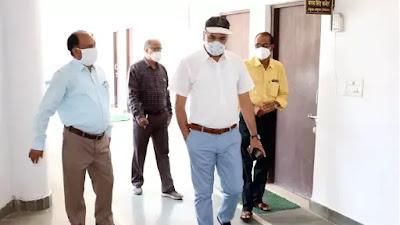 नागरिक कोरोना गाइड लाइन्स का करें पालन : Shahdol Commissioner Rajeev Sharma