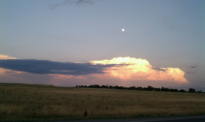 Moon Over Gunbarrel, Colorado photo by doug smith