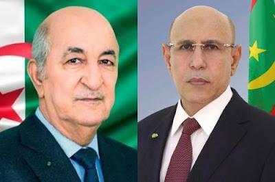 الرئيس ولد الغزواني يعزي الجزائريين و يؤكد تضامن موريتانيا معهم..