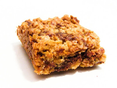 Peanut Butter and Dark Chocolate Flapjack