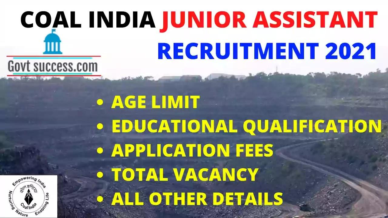 Oil India limited recruitment junior assistant 2021