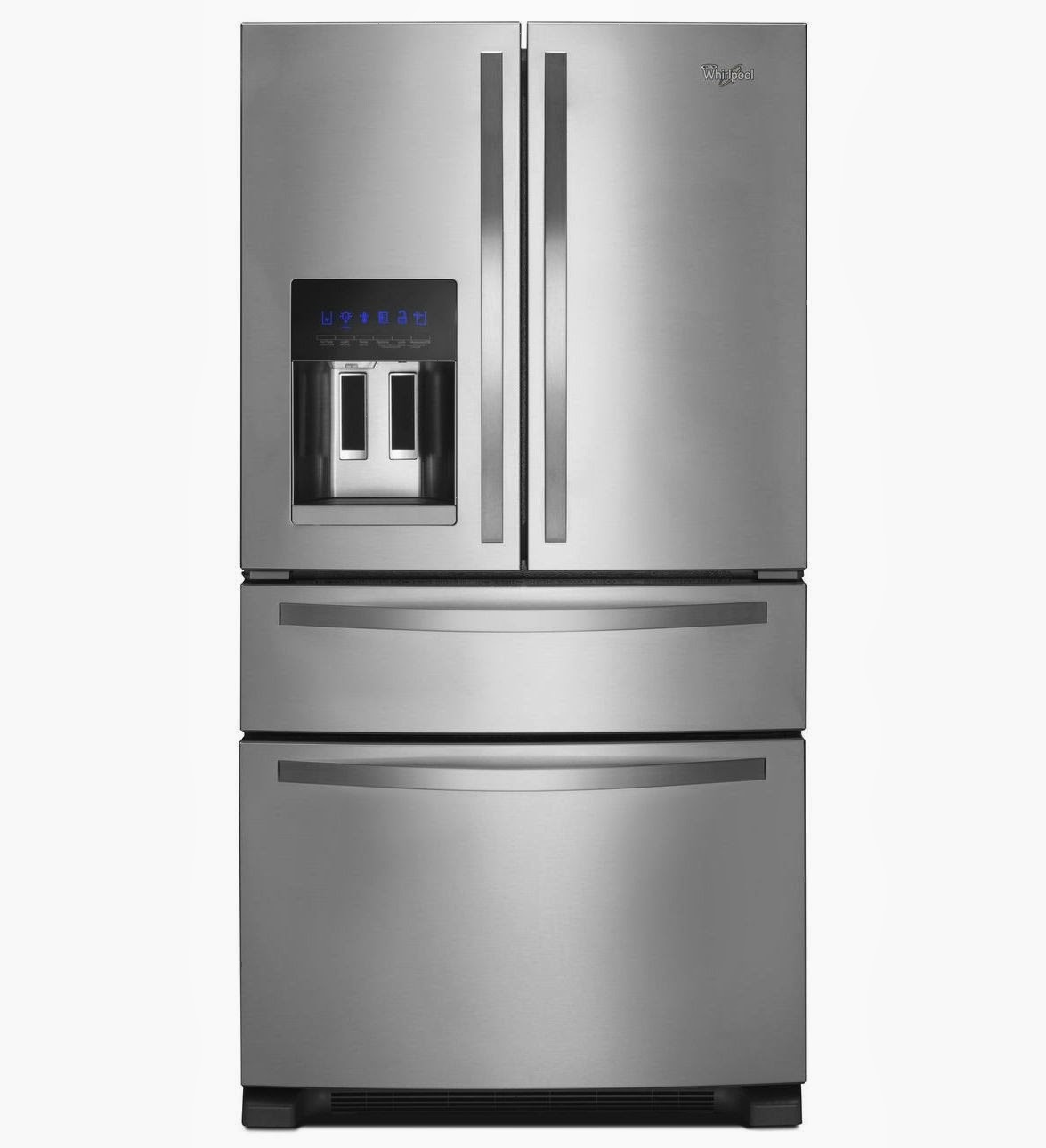Whirlpool Refrigerator Brand: Whirlpool 25 CF French Door