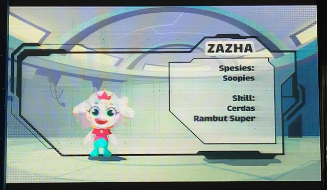Karakter Zazha
