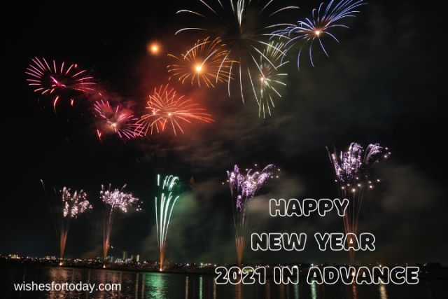 Happy New Year 2021 In Advance Shayari Images
