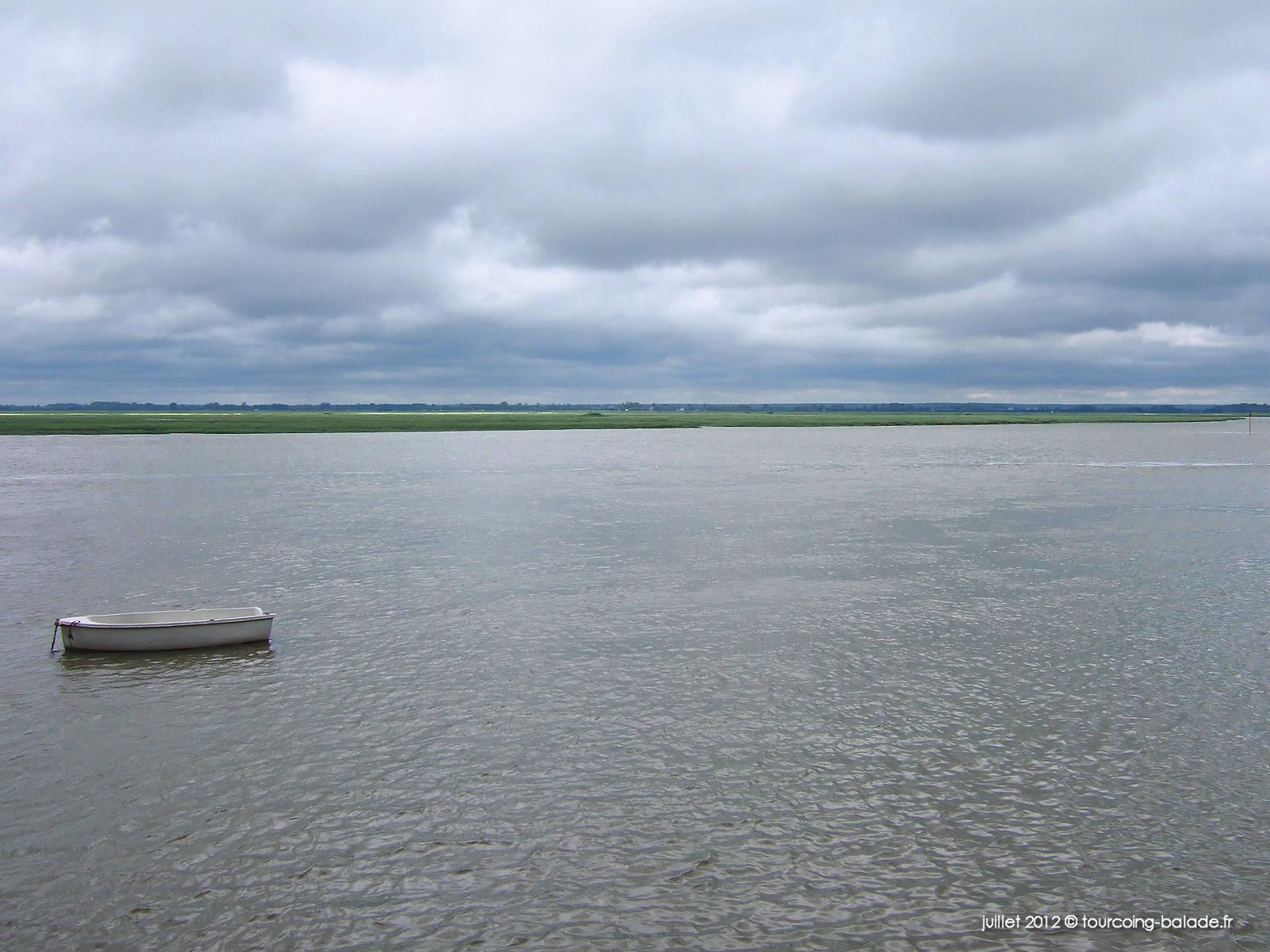 La Somme (fleuve) - Embouchure sur la Manche - 2012
