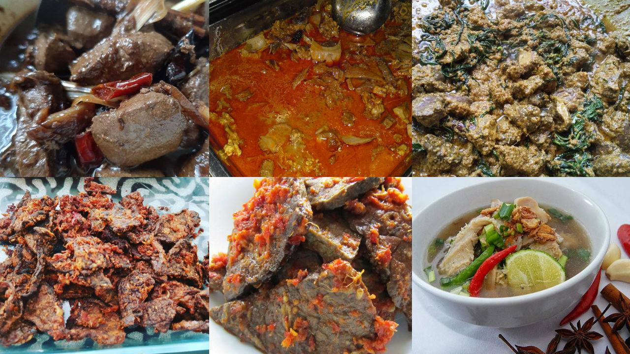 Resepi Berasaskan Hati, Limpa, Perut Dan Daging