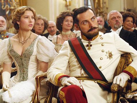 Sophie von Teschen y el príncipe Leopold en El ilusionista - Cine de Escritor