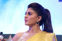 Gorgeous Jacqueline Fernandez  in yellow saree 33.JPG