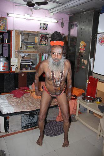 Mahakumbh Naga Sadhus Kumbhmela Ling Kriya By My Naga -3456