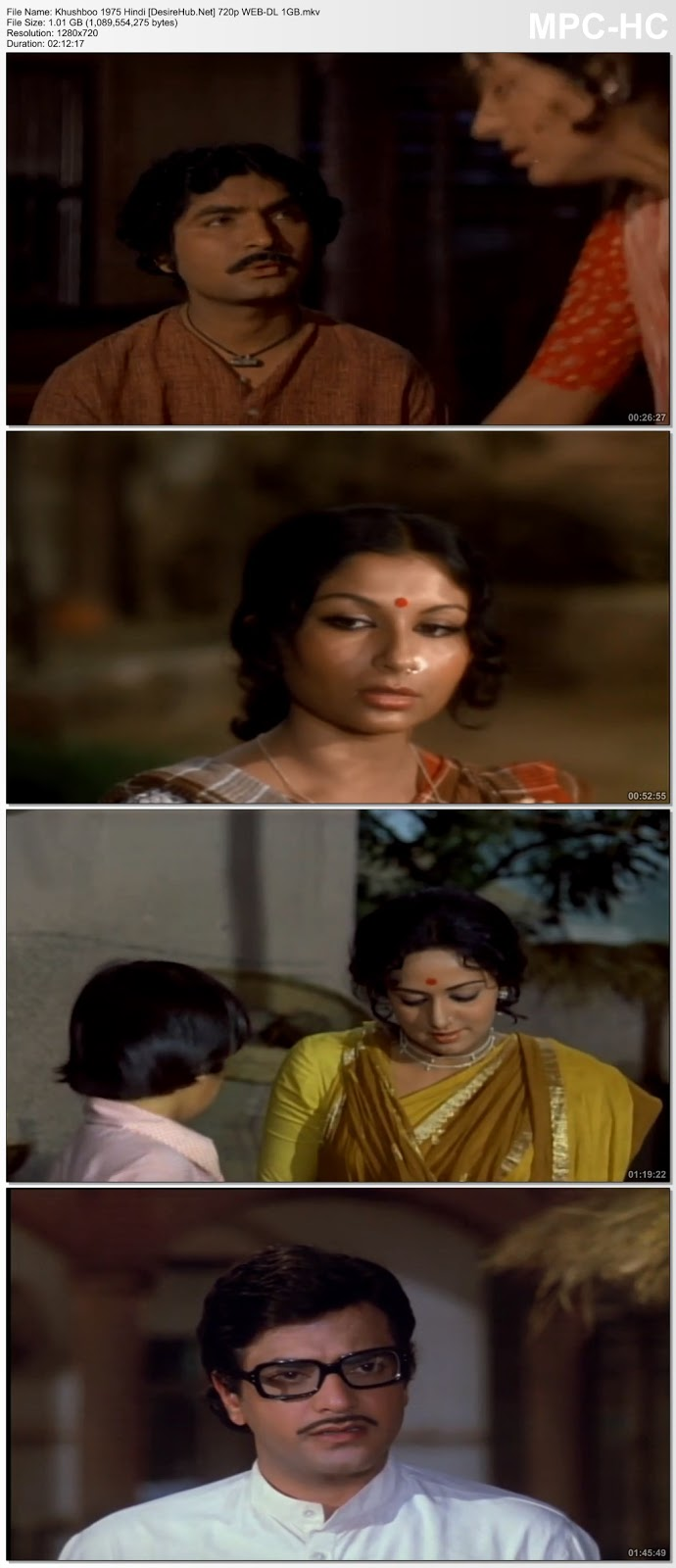 Khushboo 1975 Hindi 480p WEB-DL 350MB Desirehub