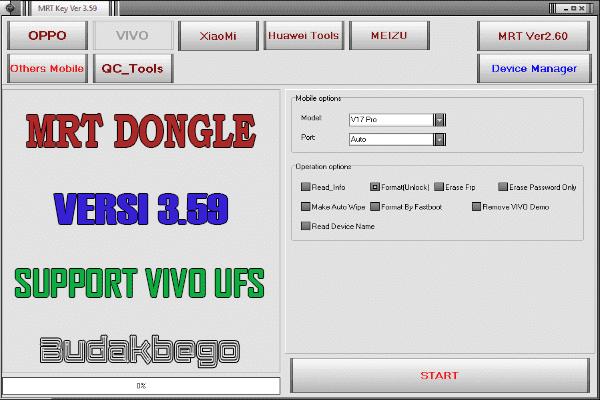 MRT Dongle Versi 3.59 (Support VIVO UFS)