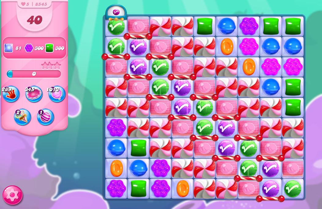 Candy Crush Saga level 8545