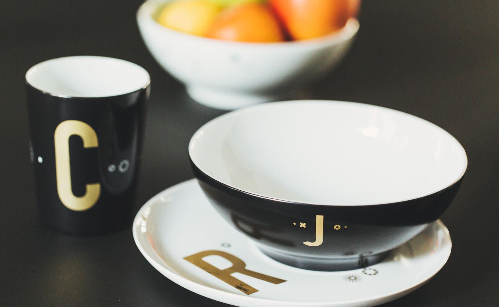 Komplet porcelany śniadaniowej