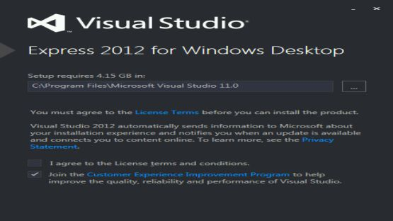 Visual Studio 2012 screenshot 3