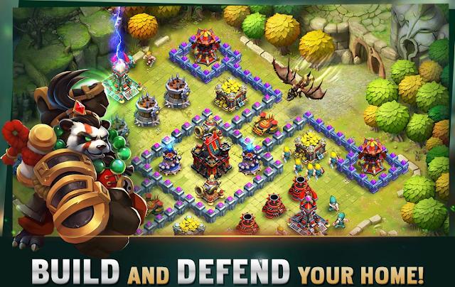 تحميل لعبة clash of lords 2  أخر إصدار