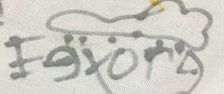 Eeyore Disney Raincloud Autograph