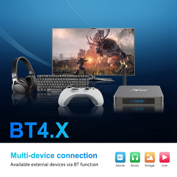 X96 X6 TV Box - Um monstro de hardware
