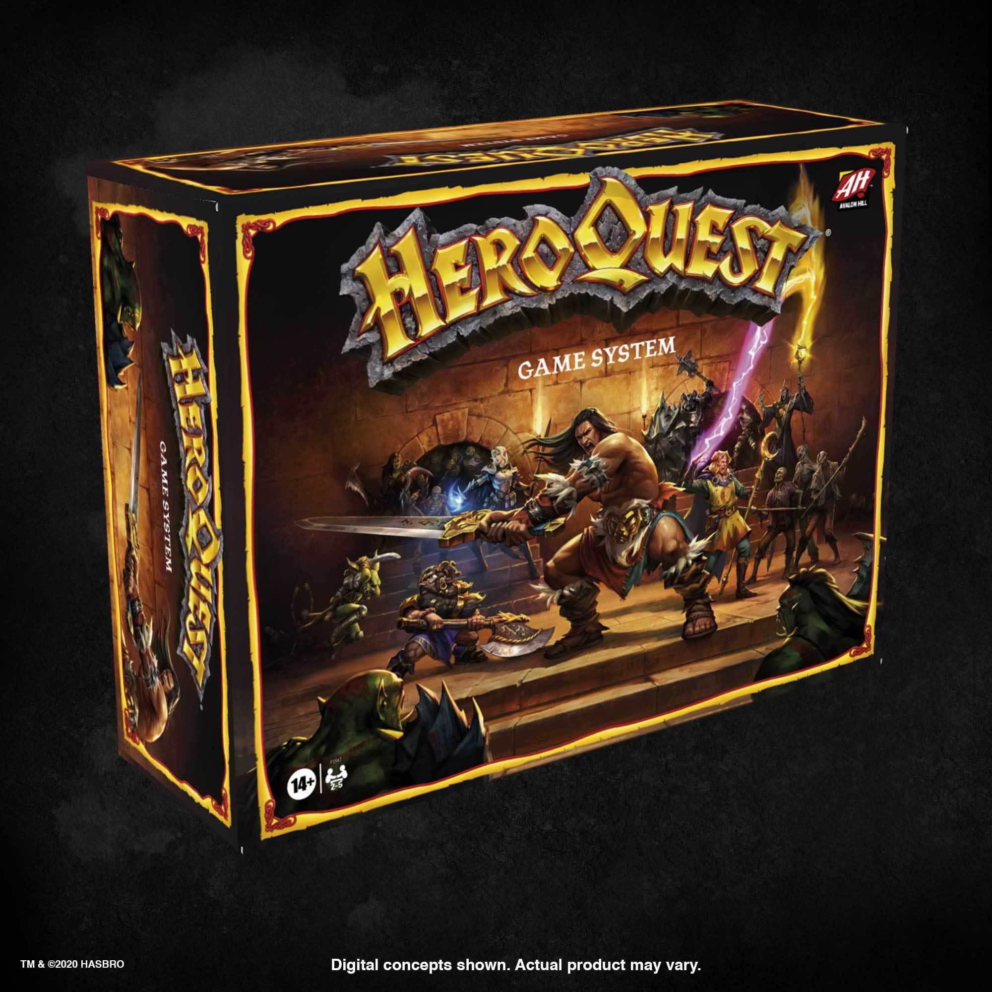 HeroQuest nuovo hasbro 2020