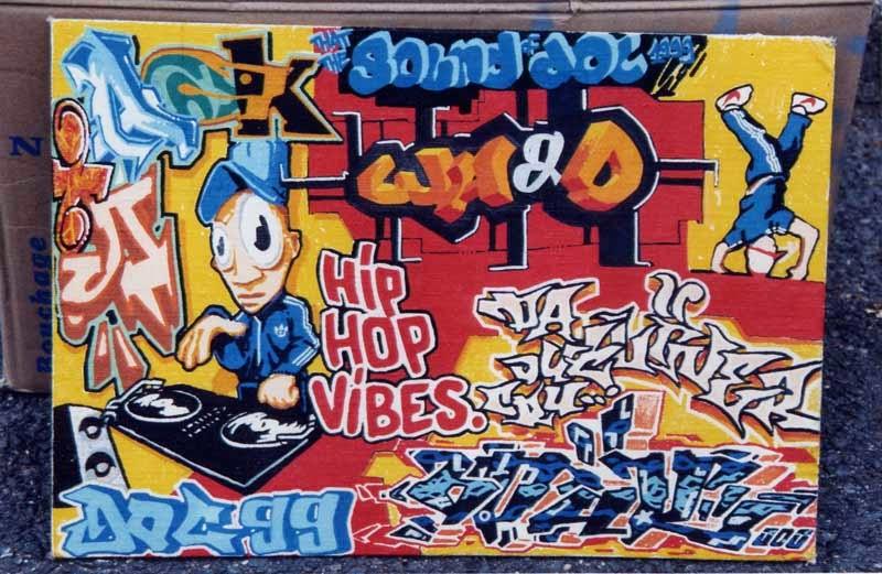 Hip Hop Graffiti Graffiti