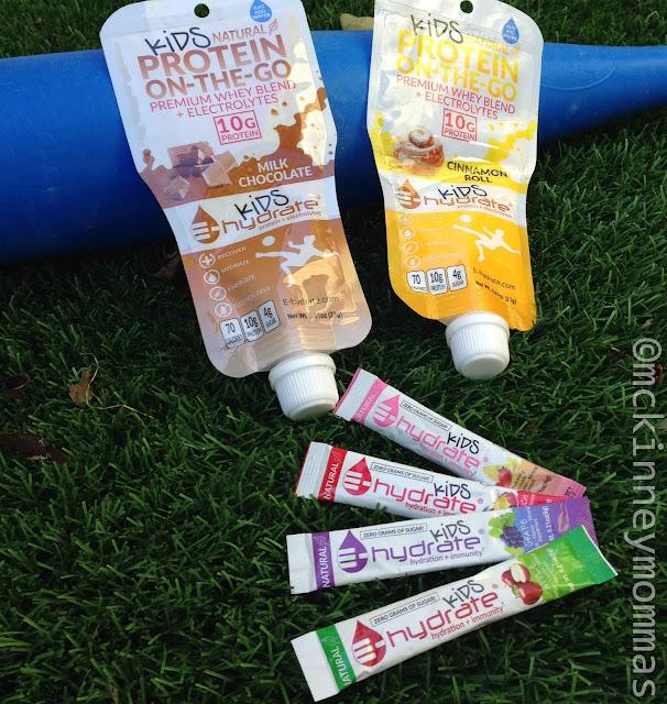 E-hydrate, kids protein shake, cinnamon roll shake