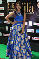 Madhu Shalini Looks Super Cute Slim trim Blue Choli Ghagra IIFA Utsavam Awards 34.JPG
