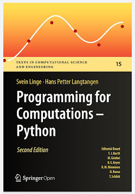 Programming For Computations - Python: A Gentle Introduction To Numerical Simulations With Python 3.6