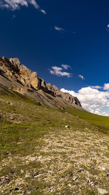 Wallpaper landscape, hills, river, field, clouds