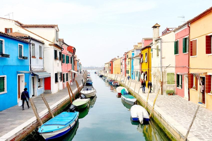 Venedig_Burano_bunte_Häuser