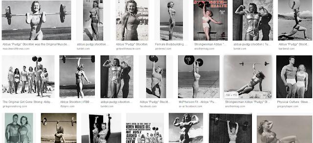 "Abbye ""Pudgy"" Stockton, Female bodybuilders Biography"