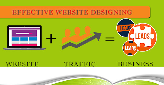 How to make effective website design for increase visitor