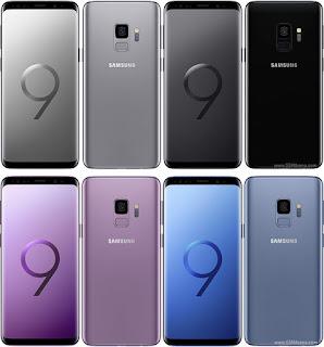 4 Warna Pilihan Samsung Galaxy S9