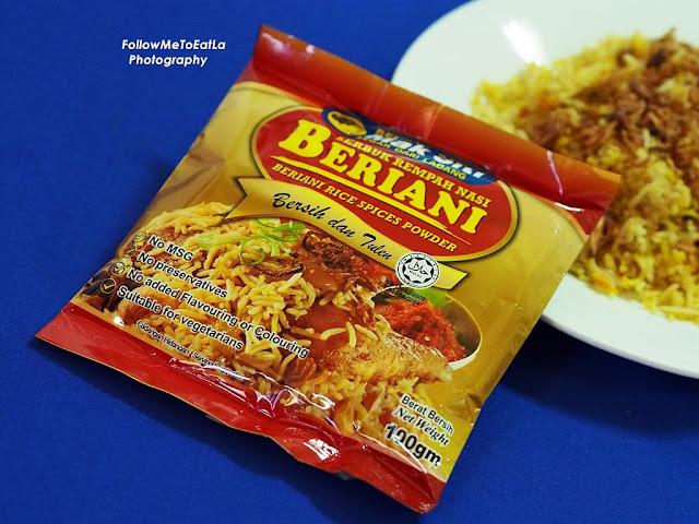 Mak Siti Serbuk Rempah Nasi Beriani Berani Rice Spice Powder