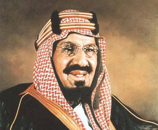 Первый король Саудовской Аравии Абдул-Азиз ибн Абдуррахман
