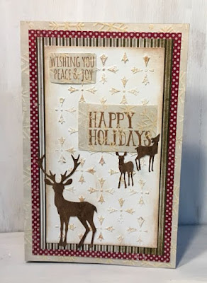 Gingerbread House Pop Up Card front