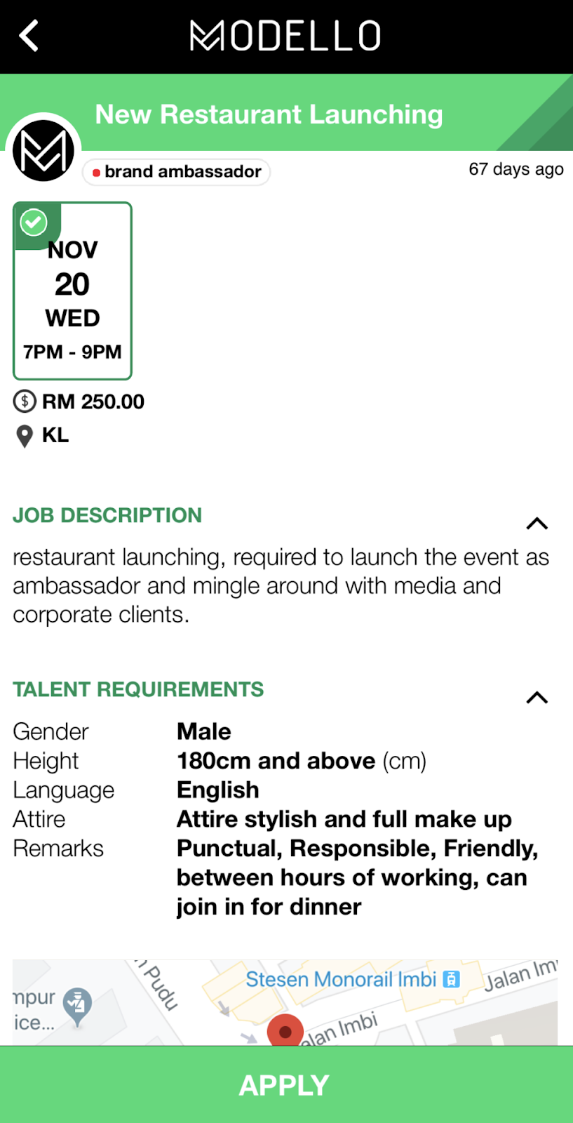 Modello, talent recruiter, online talent recruitment, find talents in Malaysia, Rawlins GLAM, extra income, Rawlins Tech,