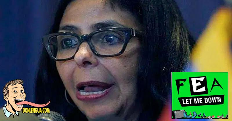 """Delcy """"La Embarazada"""" Rodriguez anuncia Cuarentena Radical para Caracas y Miranda"""