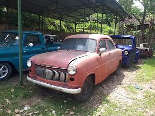 BAHAN MOBIL KLASIK : Jual Bahan Ford Consul 1951
