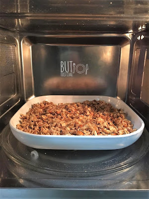 Microwave Granola in 10 minutes