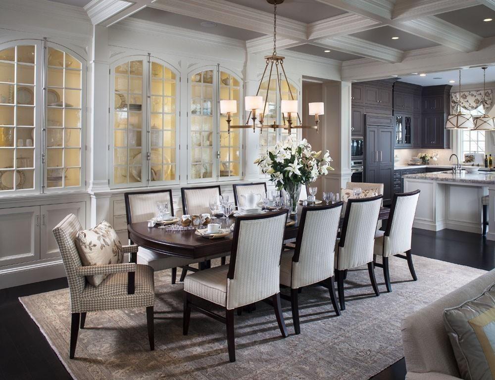 30 Desain Ruang Makan Mewah  Rumah Minimalis