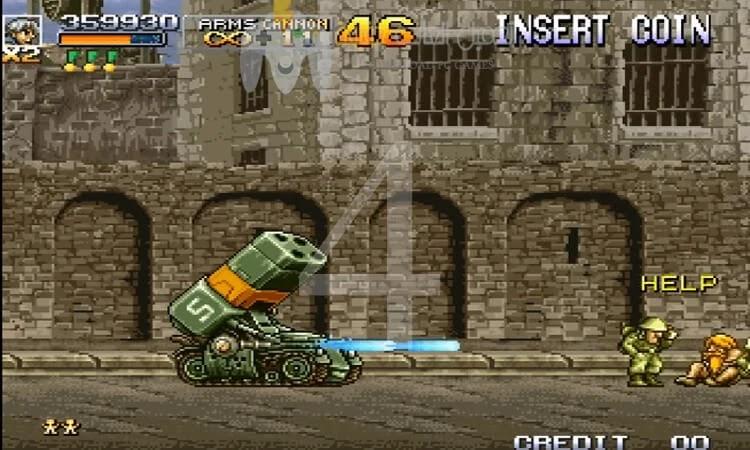 تحميل جميع اجزاء لعبة حرب الخليج Metal slug للكمبيوتر