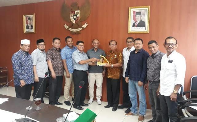 DPRK Aceh Besar Kunjungi DPRD Kota Medan
