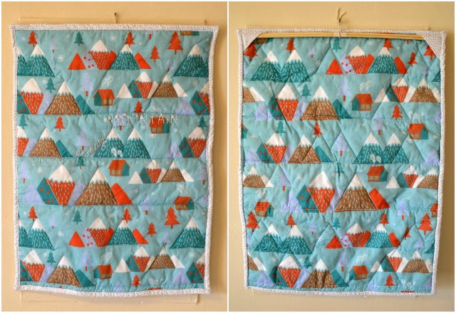 Climb Every Mountain Mini Quilt
