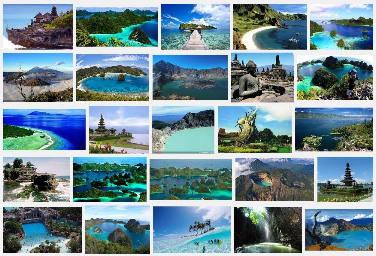 5 Obyek Wisata Terkenal di Indonesia dalam Bahasa Inggris