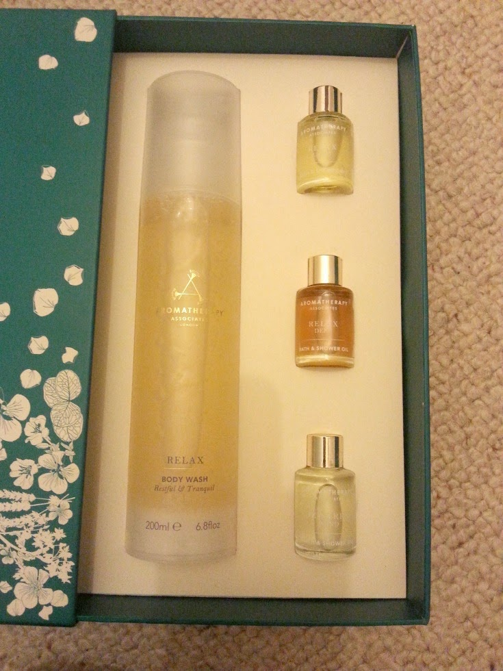 Relaxing Bath Box from Aromatherapy Associates