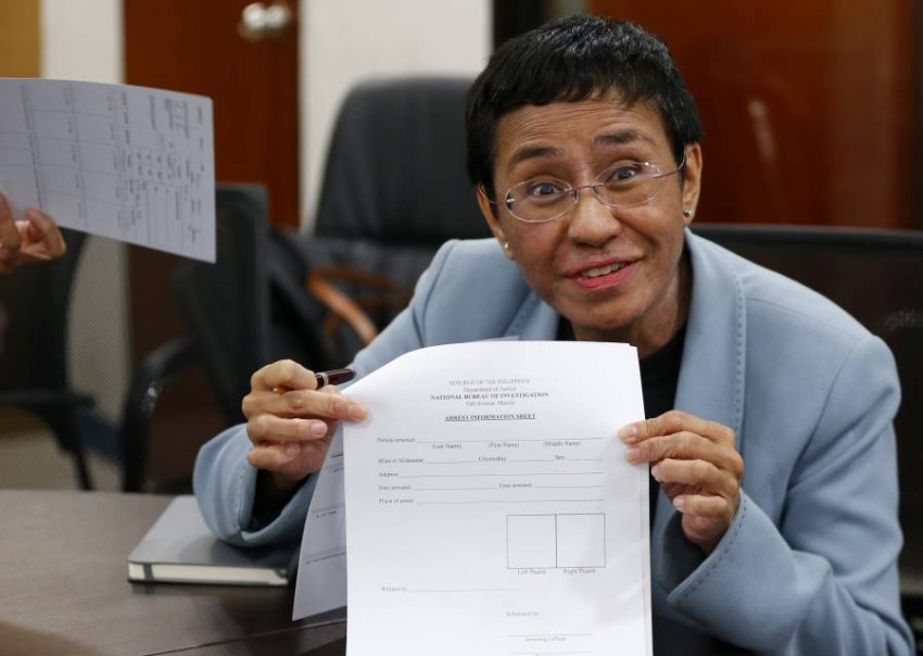 Maria Ressa, the Filipino winner of the Nobel Peace Prize, is a journalist on shifting sand. Experienced Filipino journalist Maria Ressa, who was awarded the Nobel Peace Prize on Friday, became a symbol of the struggle for press freedom under strongmen.    In 2012, the former CNN bureau chief co-founded a news website, Rappler, that brought together multimedia reporting and social media platforms to offer a daring account of current events in the Philippines.